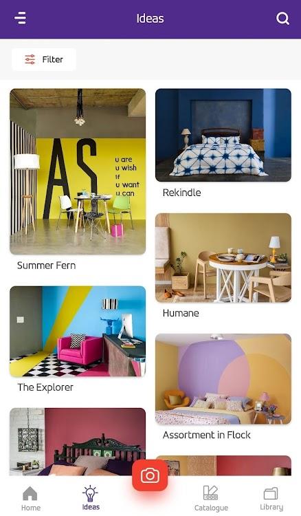 Colour With Asian Paints Wall Paint Design App