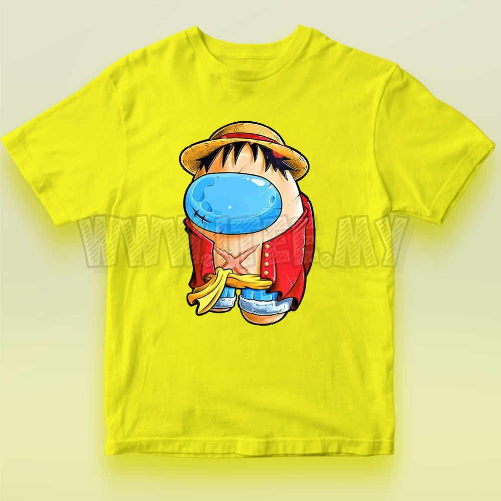 Monkey D. Luffy Straw Hat  One Piece Among Us Impostor 15