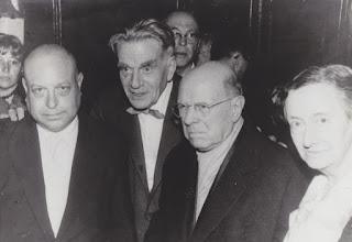 Photo: Millet, Toldra, Casals i Conxita Badia (Prada, 1961) © Family Archive (Mdm. Narcisa Toldrà)