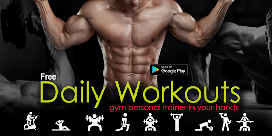Daily Fitness Workouts - Exercise Gym Diet
