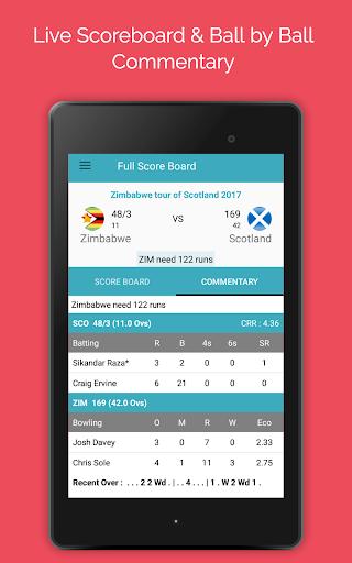 Live Cricket Score 2018 2.2 screenshots 10