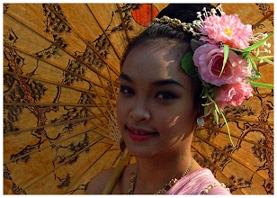 Photo: Parasol & Roses