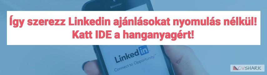 Linkedin feliratkozás