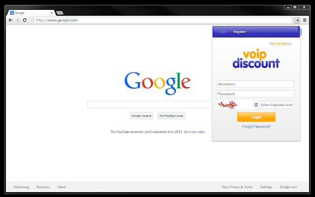 VoipDiscount Extension