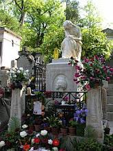 Photo: grób Chopina