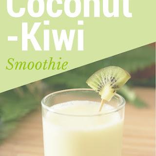 Coconut – Kiwi Smoothie.