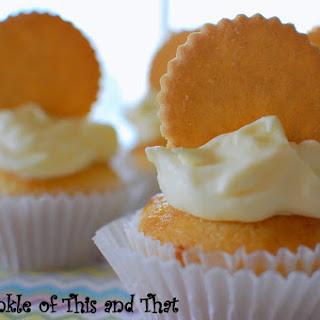 Luscious Lemon Cupcakes with Lemon Mousse