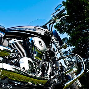 Live Long and Prosper by Brian Stout - Transportation Motorcycles ( vulcan, cruiser, chrome, motorcycle, kawasaki )