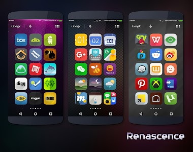 Renascence - Icon Pack v2.0.1