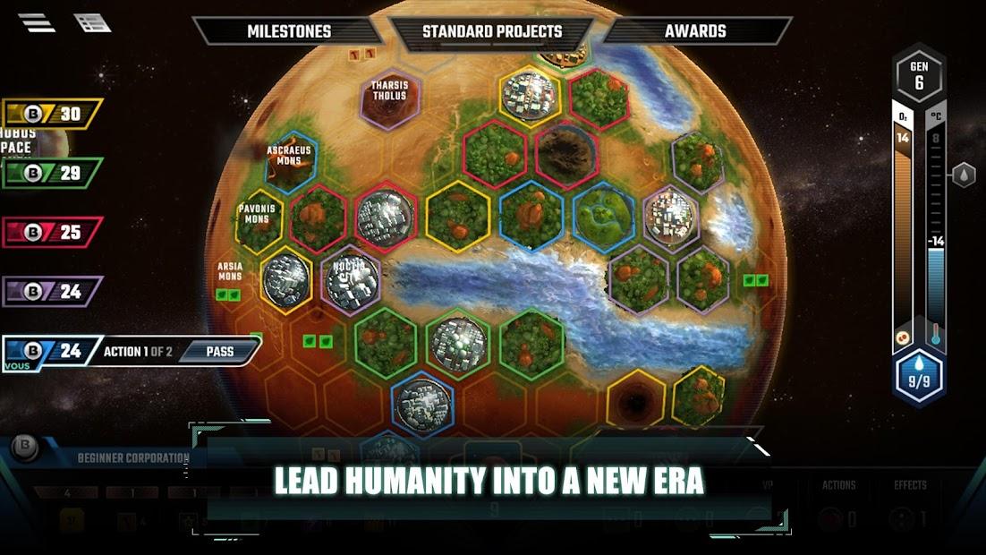 Terraforming Mars Android App Screenshot