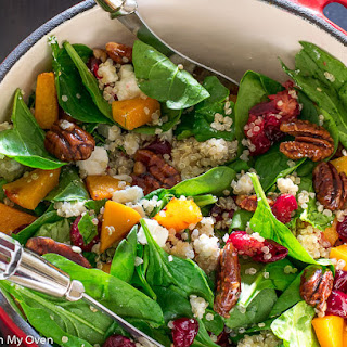 Roasted Butternut Squash and Cranberry Salad Recipe