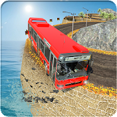 Real Offroad Tourist Hill:Bus Driver Sim 3D 2018 Android APK Download Free By ACT Games