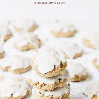 Easy Iced Spice Cookies.