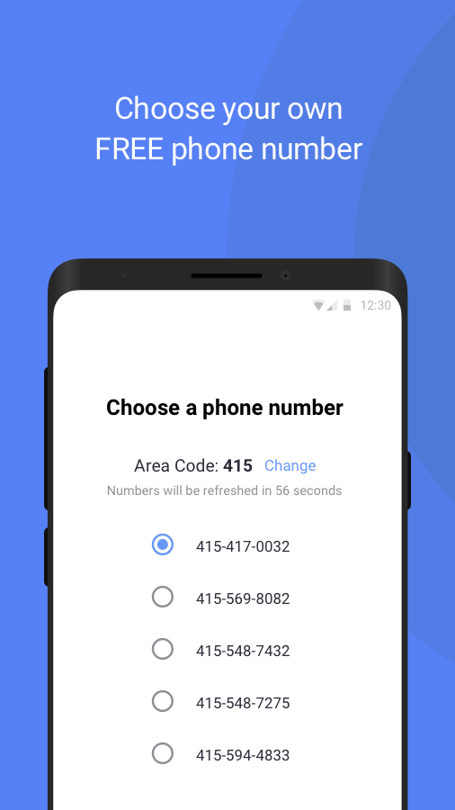 Screenshots of TextNow - free text + calls for iPhone
