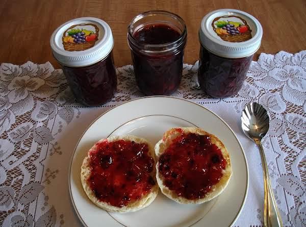 Rhubarb Blackberry Jam