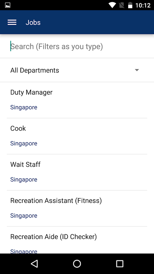 NavyMWR Singapore- screenshot