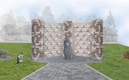 New Memorial Wall for Welshpool