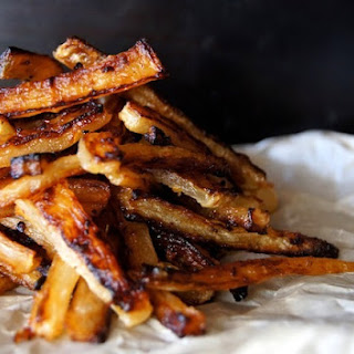 "Spicy Roasted Daikon ""French Fry"""