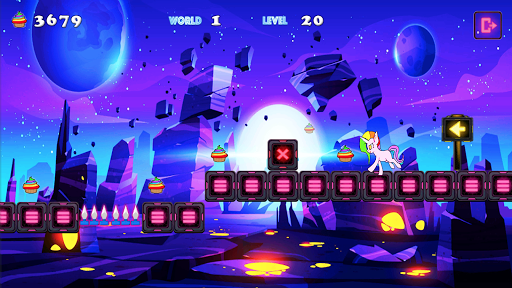 Unicorn Dash Neon Lights: Unicorn Games screenshots 9