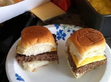 Easy Hamburger Sliders