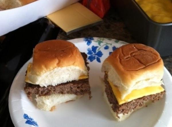 Easy Hamburger Sliders Recipe