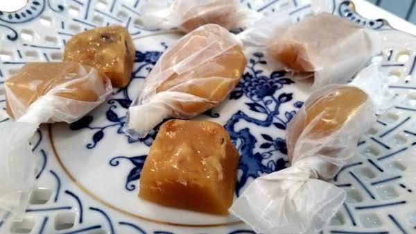 ~ Grandma's Nutty Caramels ~ Recipe