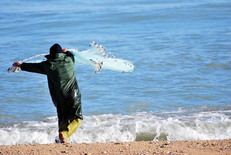 Pesca con il rezzaglio di Luporosso