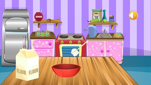 カップケーキ - 女の子のためのゲーム