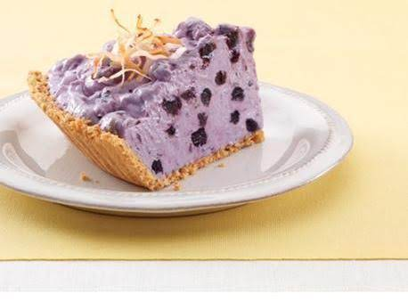 Blueberry Cream Pie With Toasted Coconut Recipe