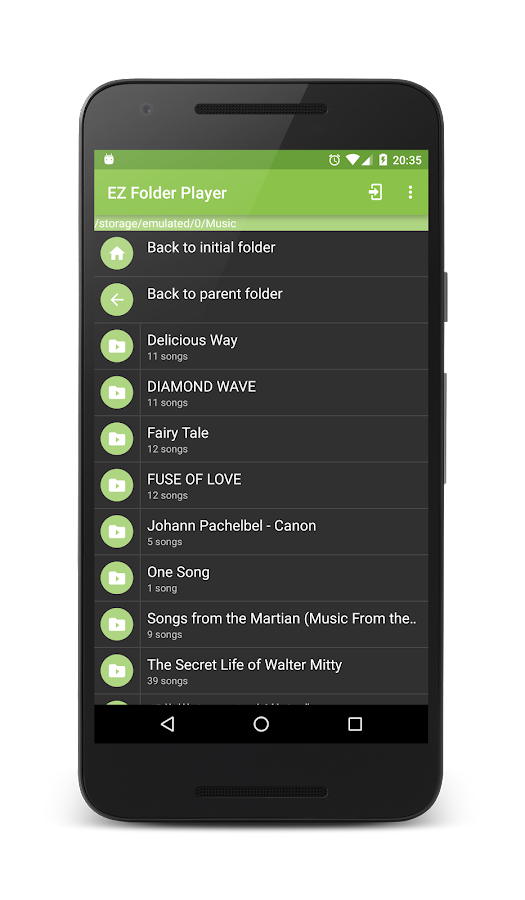 EZ Folder Player- screenshot