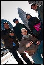 Photo: Nosotros y el Flatiron desde Broadway.
