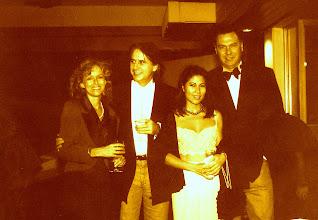 Photo: Sian, Manfred, Wai-yin & Nils @ Stanley Fort 1996