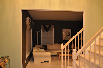 Photo: (Before) Urso's doorway to living room MArlton, NJ