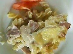 Easy Bacon Pasta Bake (using Potato Bake Sauce)