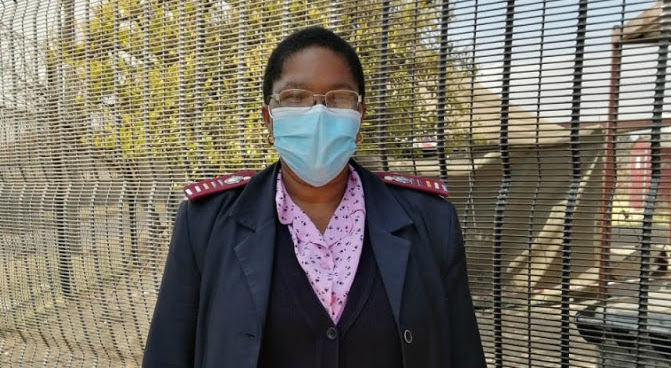 'This pandemic has made us more than nurses': On the front line with Thembisa Lote