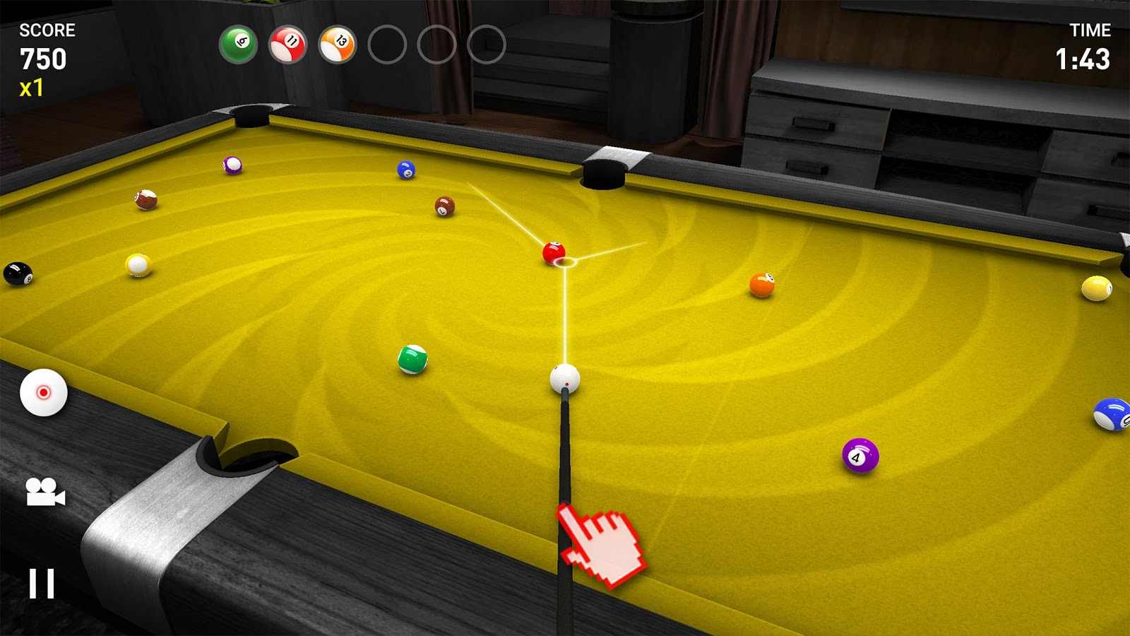 Real Pool 3D FREE- screenshot
