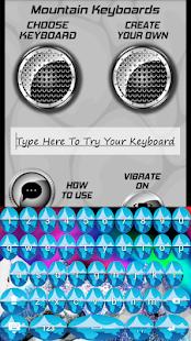Horské klávesnice - náhled