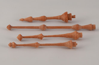 Photo: Elliot Schantz various sizes finials [pink ivory]