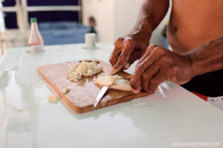 How to Make Conch Salad.