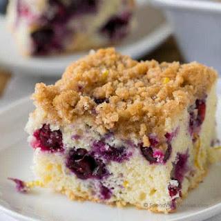 Blueberry Buckle Recipe