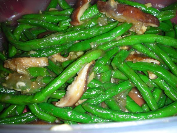 Green Beans With Wild Mushrooms Recipe