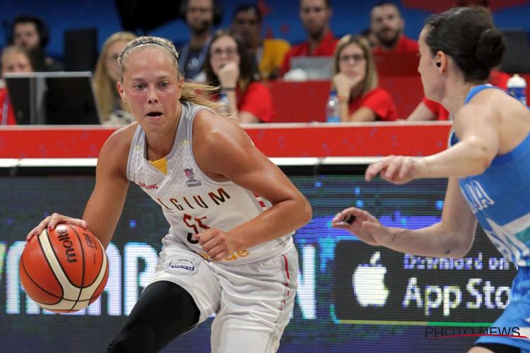 Julie Allemand België Slovenië EK Basket