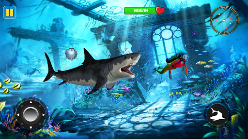 Angry Shark Attack - Wild Shark Game 2019 1.0.13 screenshots 8