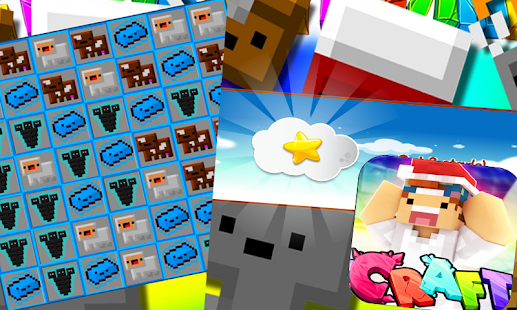 CRAZY CRAFT SWEET PUZZLE screenshot