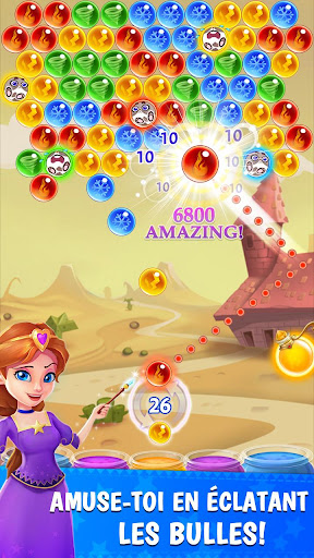 Bubble & Dragon - Magical Bubble Shooter Puzzle !  captures d'u00e9cran 1