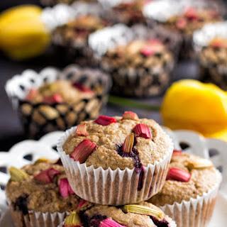Healthy Rhubarb Oatmeal Muffins Recipe