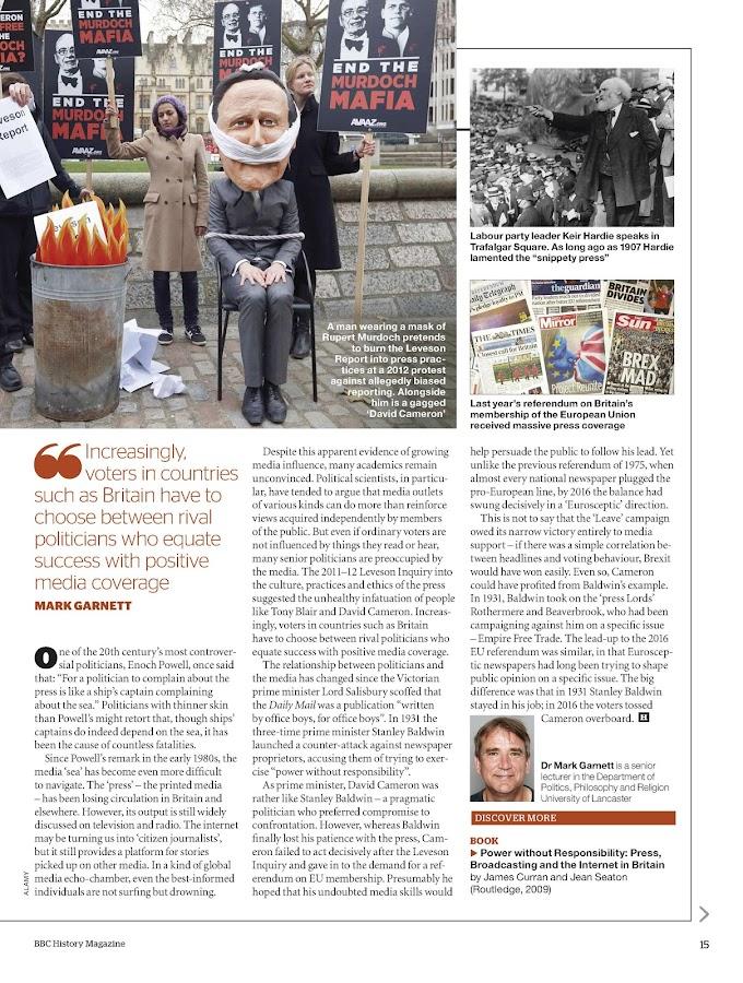 BBC History Magazine- screenshot