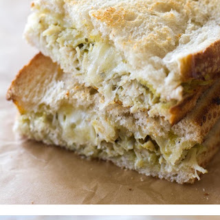 Pesto Tuna Grilled Cheese
