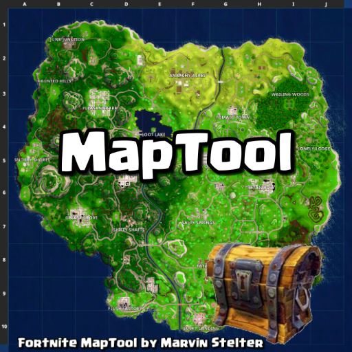 Fortnite - MapTool with Chests