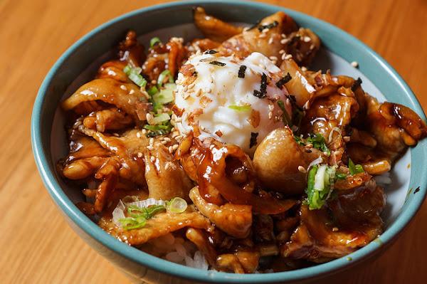 尋味山房-超級犯規的醬燒豬肉丼 焦糖般色澤油油亮亮 時尚的日式食堂 宜蘭羅東 @ Or workshop
